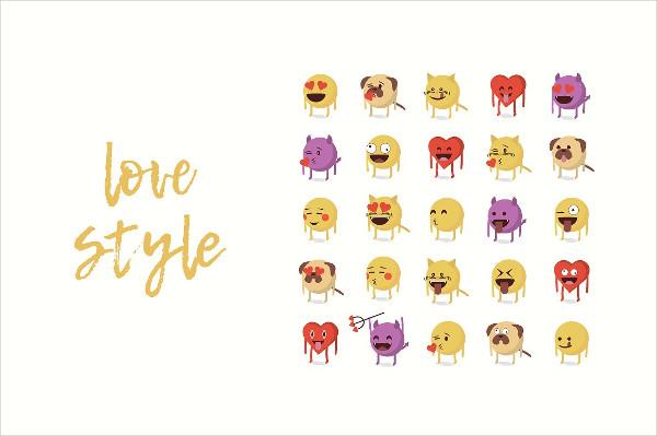 Cartoon Emoji Icon Pack
