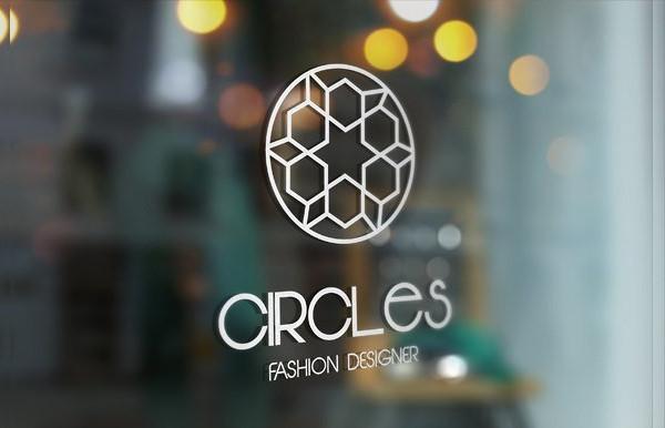 Circles Fashion Designer Logo