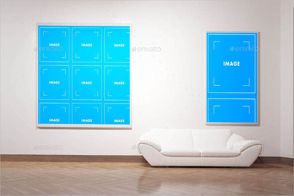 Classic Poster Gallery Mock-Ups