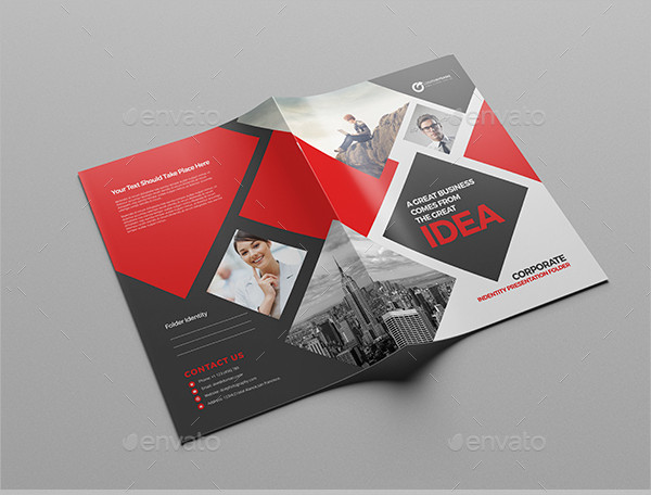 Services Presentation Folder Design
