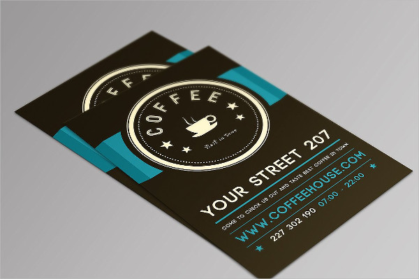 Coffee House Flyer PSD Template