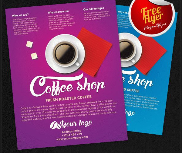 Coffee Morning Flyer Template Free
