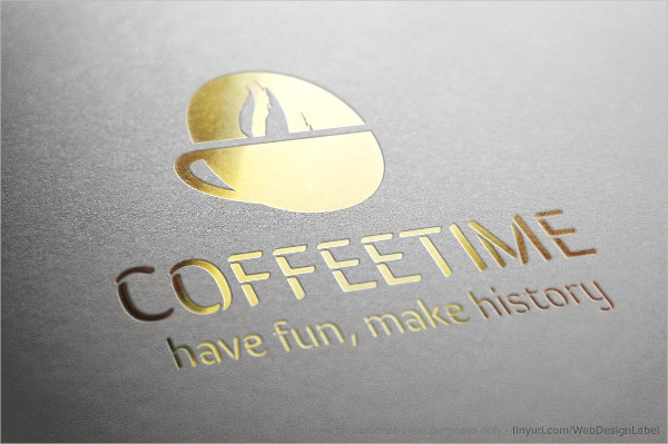 Coffee Time Logo Template