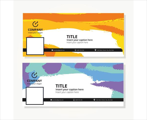 Colorful Facebook Cover Template Free Download