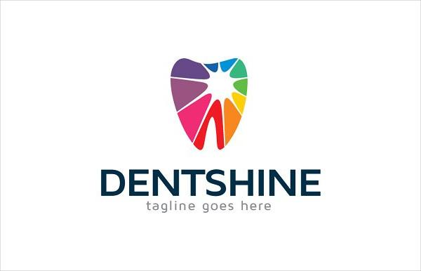Cool Dental Fit Logo Template