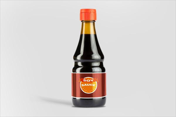 Cool Sauce Bottle Mock-up