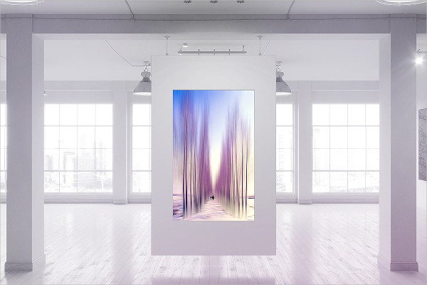 Corporate Gallery Poster Mock-Up