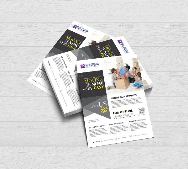 Corporate Moving House Flyer Template