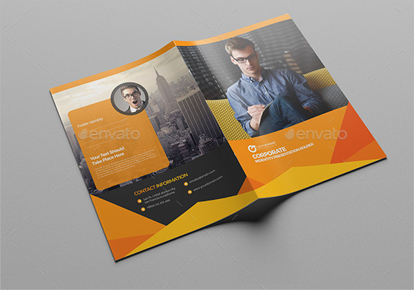 Abstract Presentation Folder Template