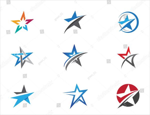 Company Logos with Stars