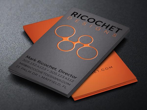 Unique Business Cards for Interior Designers
