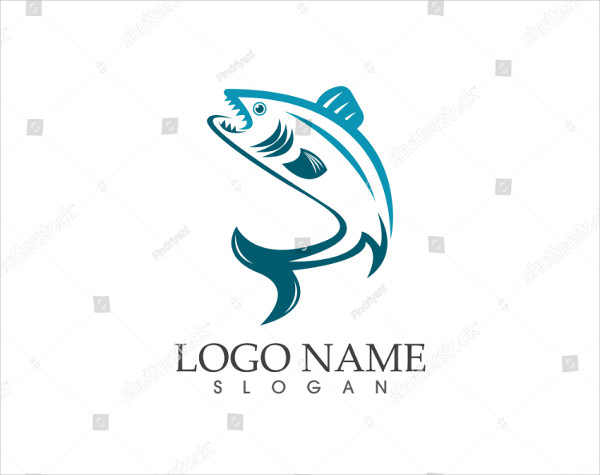 Creative Fish Design Logo Template