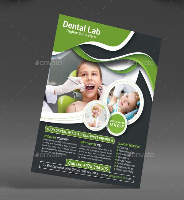 Professional Dentist Flyer Template