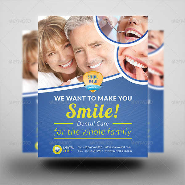 Special Dental Services Flyer Template