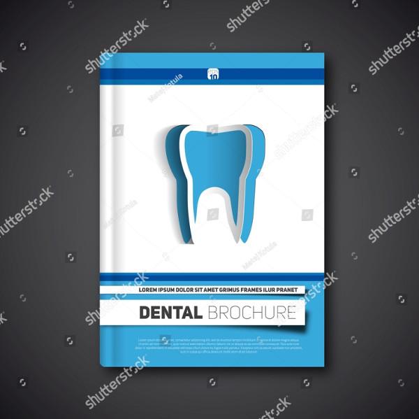 Dental Flyer Template Vector Illustration