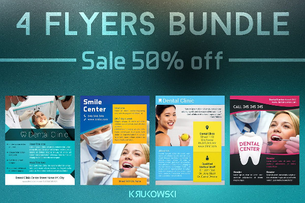 Big Dental Flyers Bundle