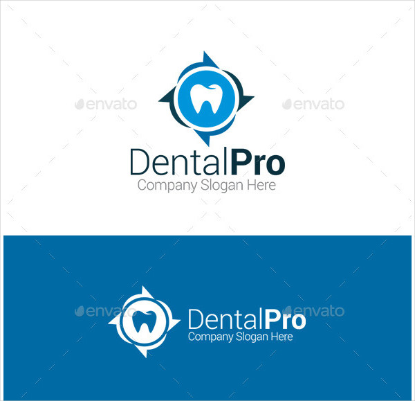 Dental Pro Logo Template