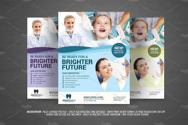 Dental Services Flyer Design Template