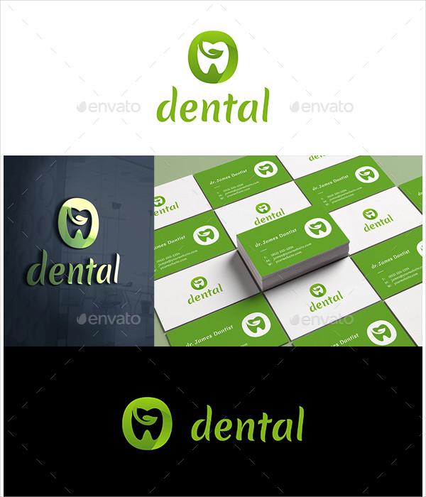 Eco Dental Services Logo Design
