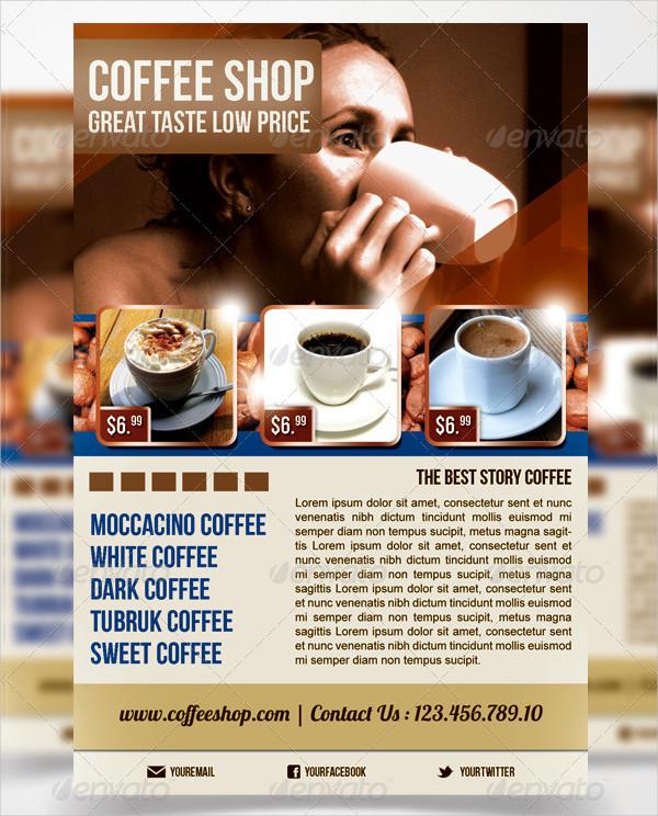 Editable Coffee Morning Flyer Template
