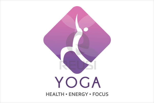 Editable Yoga Hub Logo