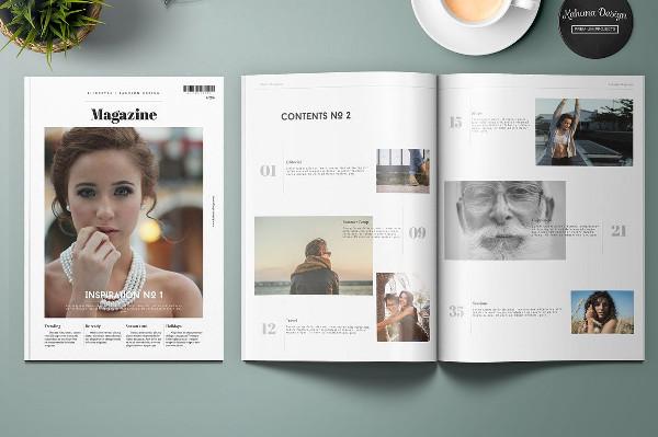 Lifestyle Universal Magazine Template