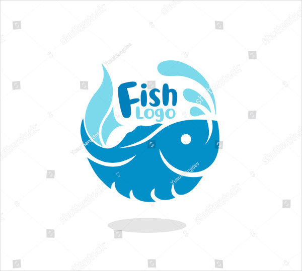 Elegant Fish Logo Vector Illustration