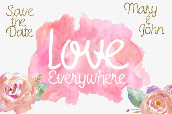 Elegant Love Everywhere Font