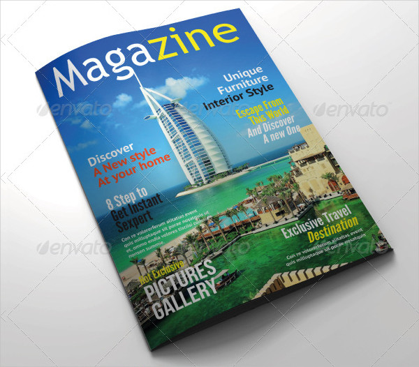 Elegant Universal Magazine Template
