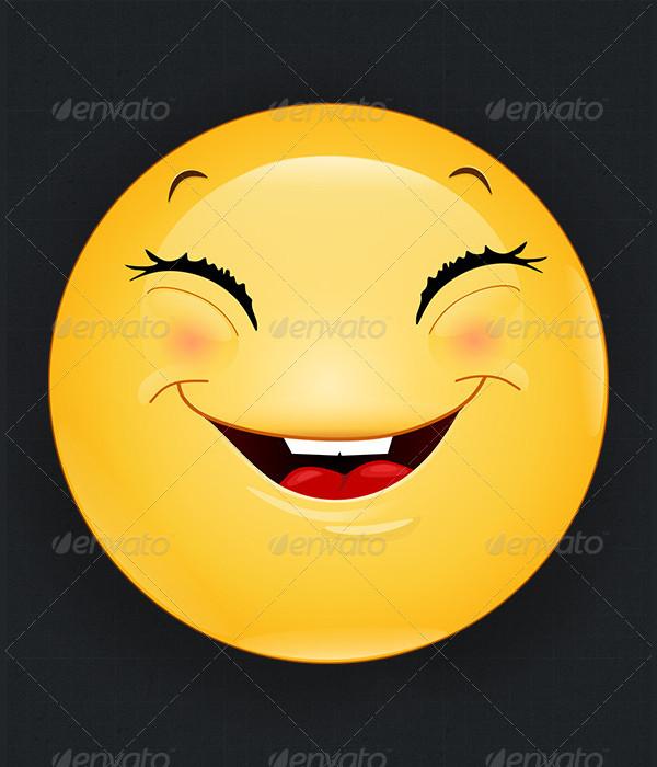 Emoji Happy Icons Set