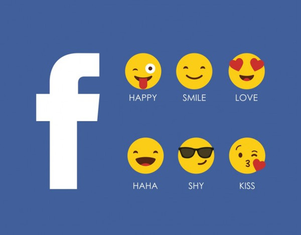 Facebook Smileys Free Vector