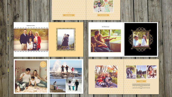 Family Album Templates