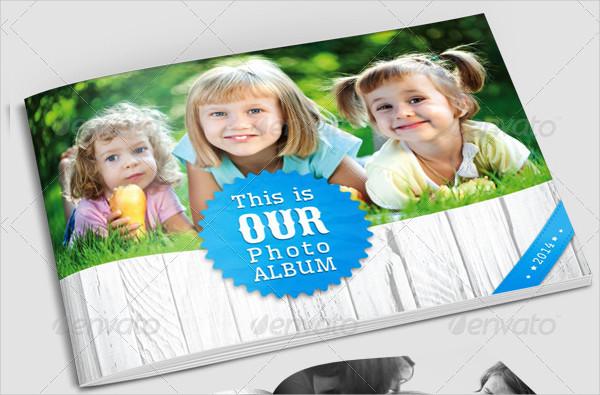 Family Photo Album for Indesign