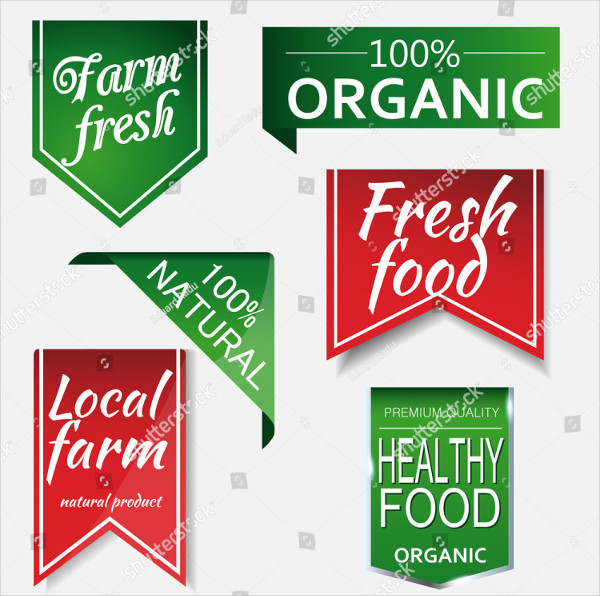 Farm Organic Food Labels