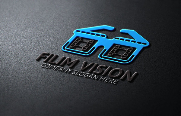Film Vision Logo Template