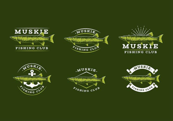 Fishing Club Logo Template Free Download