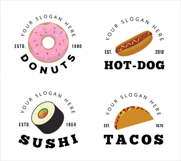 Food Truck Logo Templates Free Download