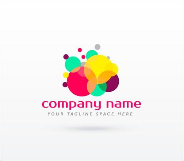 Free Circle Colorful Logo Concept Design