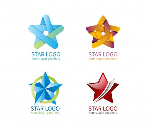 Free Download Star Logos Collection