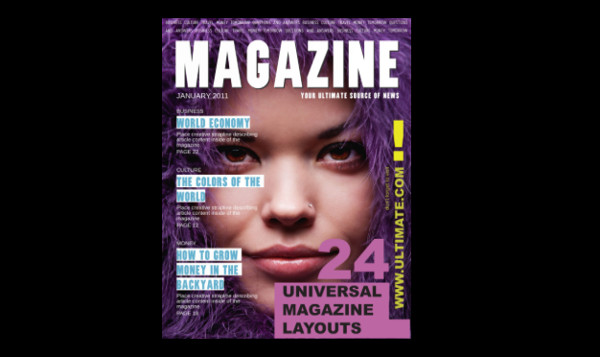 Free DownloadUniversal InDesign Magazine Template