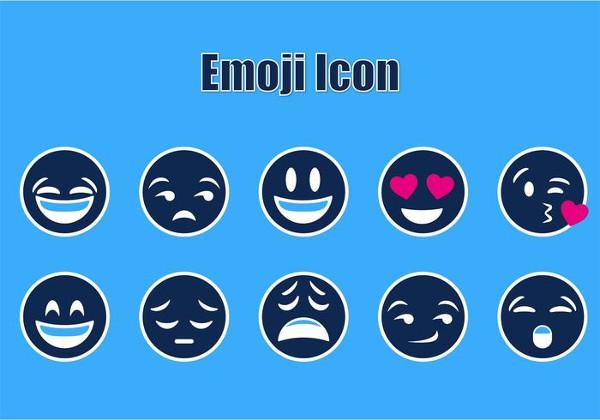 Free Emoji Icon Vectors