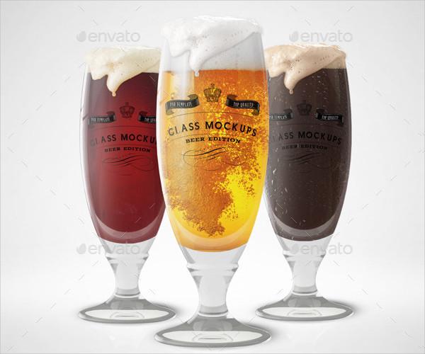 Fresh Alcohol Glass Mock-Ups