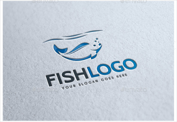 Fully Editable Fish Farm Logo Template