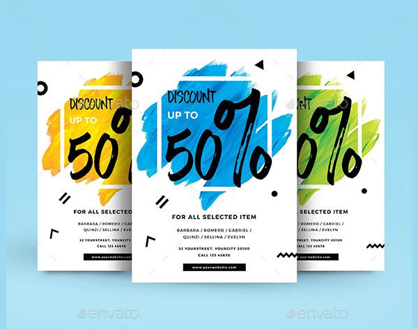 Fully Editable Sale Flyer Design