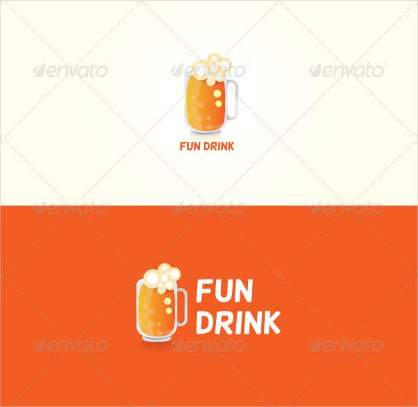 Fun Drink Stock Logo Template