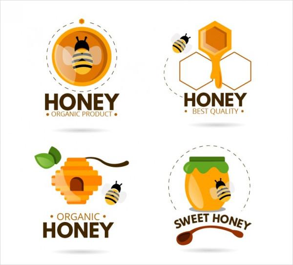 Funny Logos for Organic Honey Free