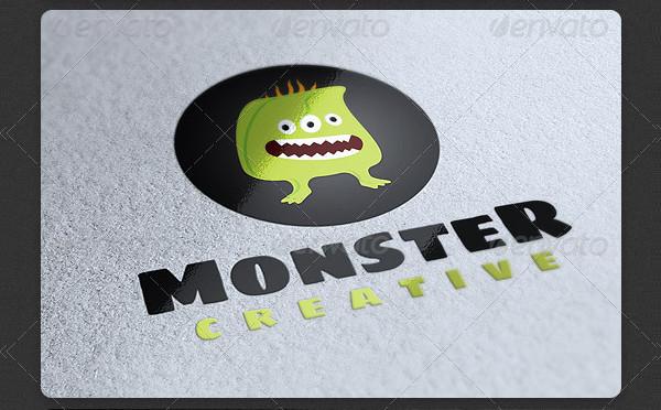 Funny Monster Logo Design