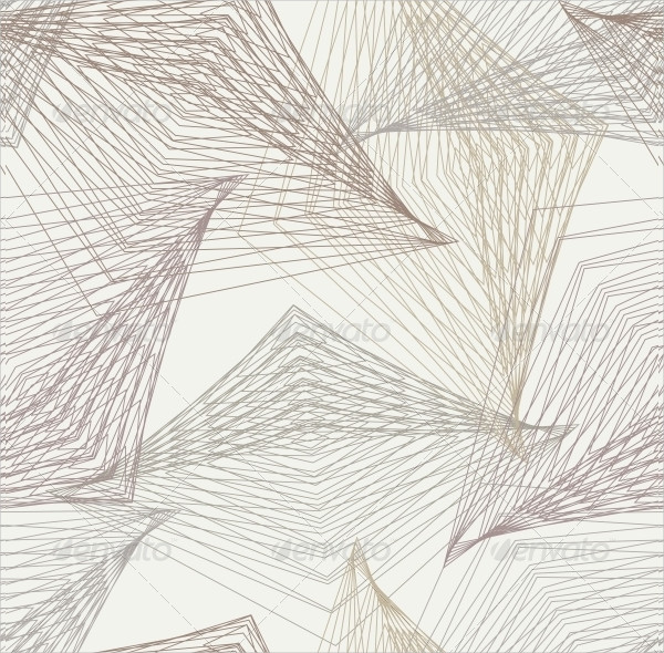 Geometric Art Deco Modern Futuristic Pattern