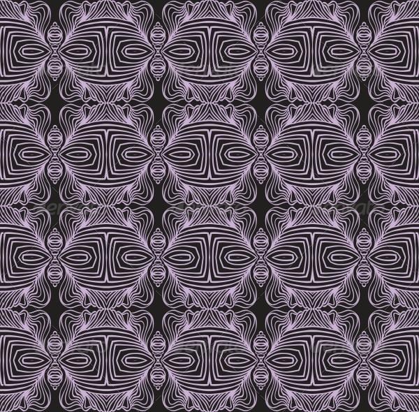 Geometric Linear Art Deco Pattern