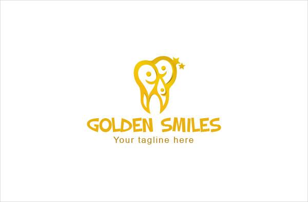 Golden Smiles Dental Logo